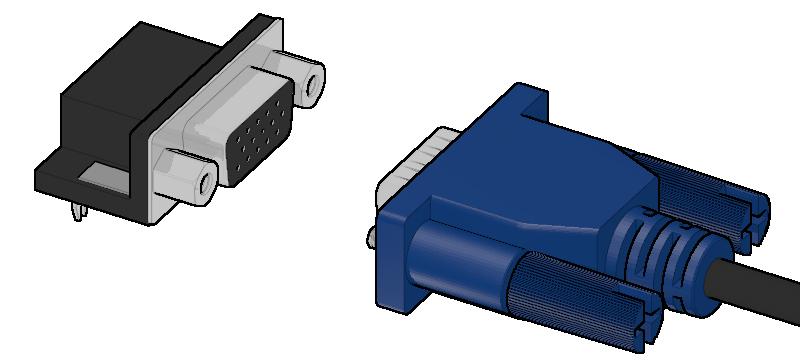 VGA Pin assign