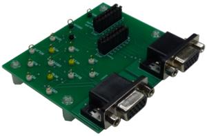 VGA信号プローブボード